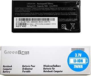 GreenTech FR463 P9110 Replacement Battery for Dell Poweredge Perc 5i 6i PowerEdge 840 1900 1950 R200 R310 R410 R510-3.7V 7Whr NU209 U8735 XJ547 312-0448 RAID Controller Battery