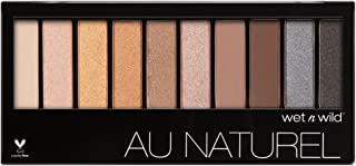 Wet & Wild Color Icon Au Natural 10-Pan Eyeshadow 753a Bare Neccessities, 5.6 Ounce