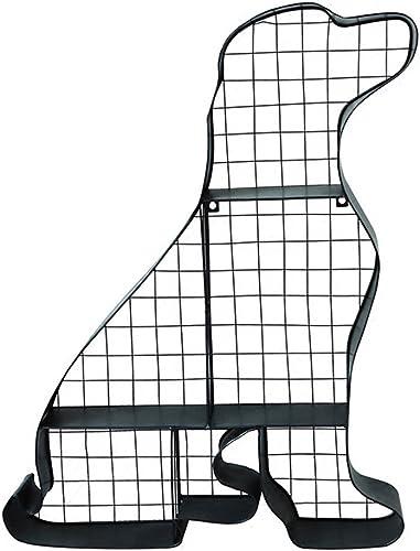 Willesego Schmiedeeiserne Hund Modellierung Regal Schlafzimmer Dekoration Regal Wohnzimmer Wand Lagerregal Kreative Metall Stent Partition (Farbe   -, Größe   -)