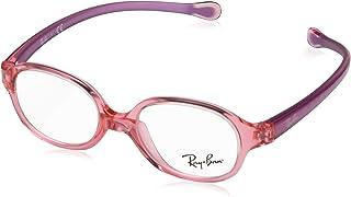 25fd333c8 Óculos de Grau Ray Ban Junior Ry1587 3767/39 Vermelho Transparente/roxo