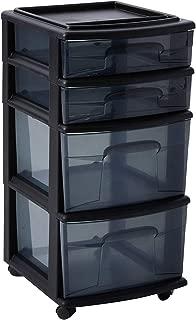 plastic drawer storage unit
