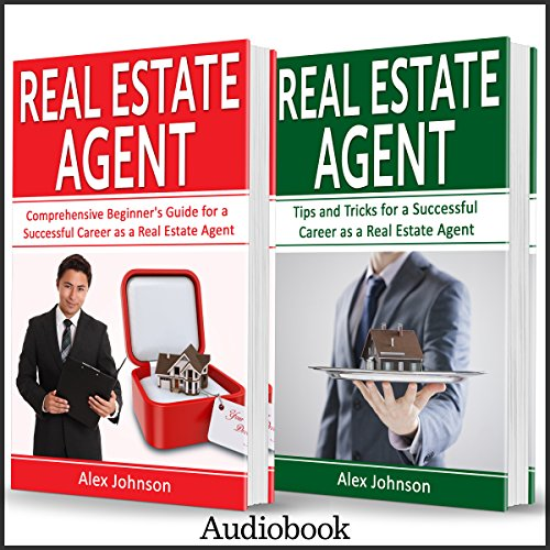 Real Estate Agent: 2 Manuscripts in 1 audiobook cover art