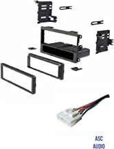 ASC Car Stereo Install Dash Kit and Wire Harness to Install an Aftermarket Single Din Radio for some 1998 - 2002 Honda Passport, 1998 - 2000 Isuzu Amigo, 1998 1999 2000 2001 2002 2003 2004 Isuzu Rodeo