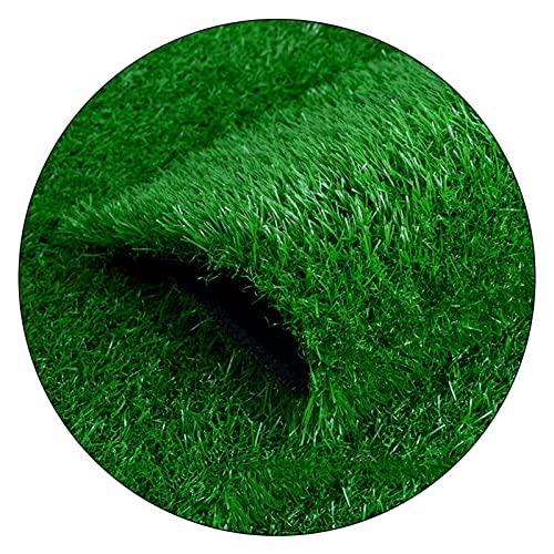 3 0mm Césped fingido sintético realista de hierba verde, se puede cortar y fáciles de limpiar, for la decoración de la pared al aire libre del jardín del jardín de jardín de infantes, ancho 2m (tamaño