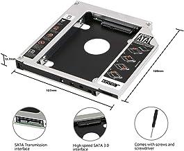 OSST 2nd Caddy 12,7 mm caja para Apple iMac Mini A1283 A1347 A1311 A1312 SATA disco duro SSD para CD DVD RW BD Blu Ray ROM de la bahía Odd bandeja adaptador portátil 2009 2010 2011 2012 2013