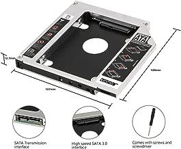 OSGEAR 2nd 12.7mm HDD Caddy SATA SSD HDD BOX Replacement for Apple Laptop Mac Mini A1283 A1347 A1311 A1312 SuperDrive 27