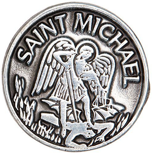 Cathedral Art PT409 Saint Michael ficha de Bolsillo, 2.5 cm