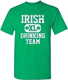 Irish Drinking Team St Patrick's Day Saint Irish Pats Sarcastic Funny T Shirt