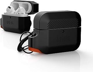 URBAN ARMOR GEAR Apple AirPods Pro用 充電ケース用ケース(耐衝撃/カラビナ付属)ブラック 【日本正規代理店品】 UAG-APPROS-BK