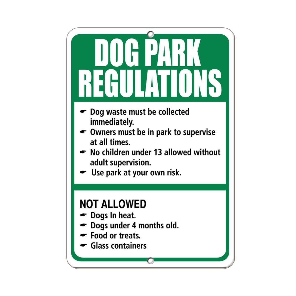 Details about  /Vertical Metal Sign Multiple Sizes Warning No Soliciting Thank You Security