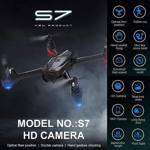 CarJTY  .4Ghz 4CH 1080P WiFi Optischer Fluss Doppelkamera RC Quadcopter Drohne  019 Fotografüren des optischen Flusses eines ferngesteuerten Videoflugzeugs nach der Luftaufnahme