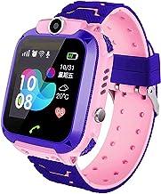 linyingdian Smartwatch Niños, Reloj Inteligente Niña IP67, LBS, Hacer Llamada, Chat de Voz, SOS, Modo de Clase, Cmara, Juegos, Regalo para Niños de 3-12 años, soporta 2G tarjetáas Micro SIM
