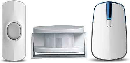 AcePoint 2-in-1 Wireless Doorbell Motion Sensor Night Light Series, Plug-in Wireless Door Bell w/LED Night Light Function, Long Operating Range