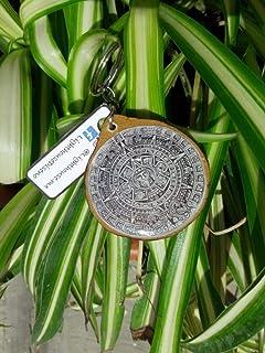 llavero artesanal Calendario azteca