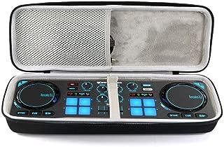 Tisnia Hard Travel Case for Hercules DJControl Compact Portable DJ Controller - Black