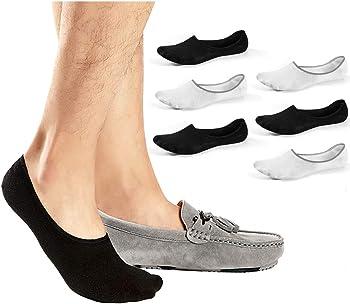 6-Pack JaosWish Low Cut Men's No-Show Socks