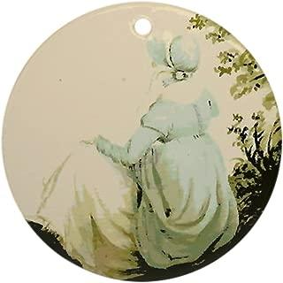 CafePress Jane Austen Ornament (Round) Round Holiday Christmas Ornament