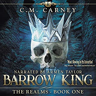 Barrow King     The Realms, Book 1              Auteur(s):                                                                                                                                 C.M. Carney                               Narrateur(s):                                                                                                                                 Armen Taylor                      Durée: 13 h et 30 min     3 évaluations     Au global 4,7