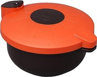 アイリスオーヤマ 圧力鍋 電子レンジ 2.3L ブラウン マイヤー MRA-2300