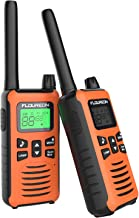 FLOUREON Walkie Talkies, 2 Pack 5KM Rango de 16 Canales,