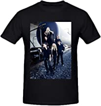 Heeloo Men's Tangerine Dream Personalized Big T Shirt