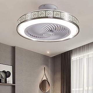OUJIE Ventilateur Au Plafond avec Éclairage, LED 72W Ventilateur avec Télécommande, Réglable Vitesse du Vent Et Dimming, P...