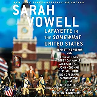 Lafayette in the Somewhat United States audiobook cover art