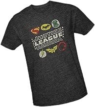 Justice League Symbols Adult Premium T-Shirt
