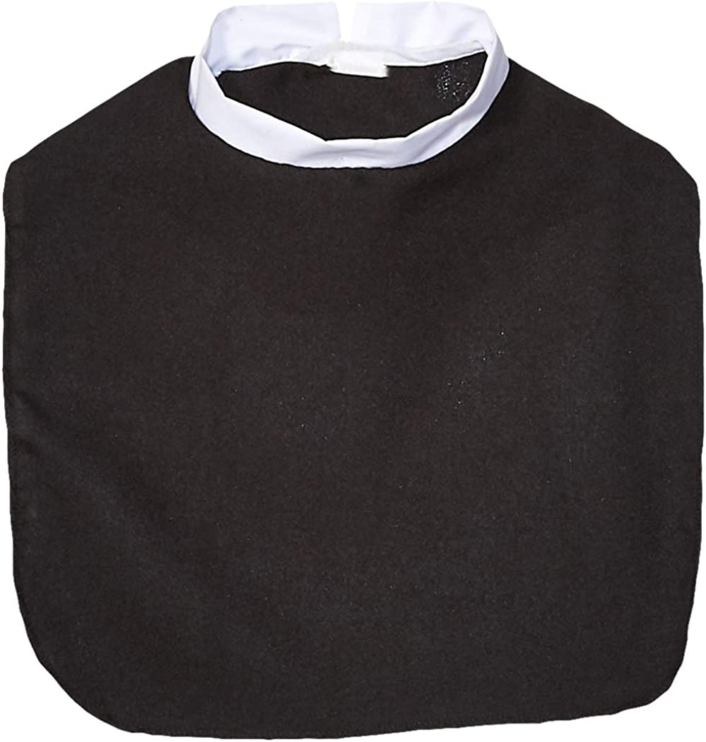 Alexanders Costumes Clergy Collar, Black, One Size : Clothing, Shoes & Jewelry