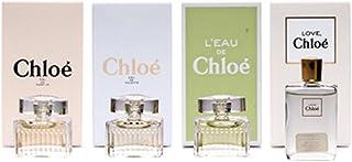 Chloe Les Parfums Miniature Set Of 4 For Women - 1 EDP 5 ml +CHLOE L'EAU EDT 5 ml +CHLOE EDT 5 ml + CHLOE LOVE EAU FLORALE...