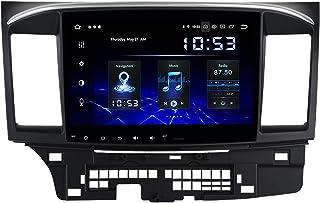 Dasaita 10.2' Android 10.0 Autoradio mit Navi Android Auto für Mitsubishi Lancer EX 10 EVO 2007 2017 1 Din Carplay Autoradio Bluetooth Touchscreen Unterstützung WiFi DAB+ USB 4GB 64GB