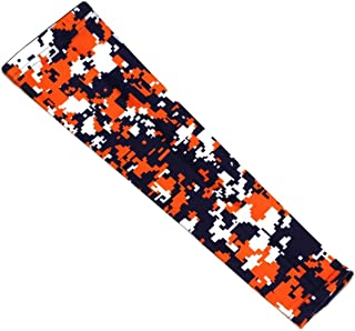 OOIN Football Baseball Camo Compression Arm Sleeve Youth Adult Sizes for Basketball Cycling Tennis (1 Sleeve)