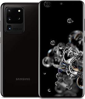 """Samsung Galaxy S20 Ultra 5G (SM-G9880) Dual SIM / 256GB+12GB RAM / 6.9""""/ 5G対応 / SIMフリー スマートフォン, Snapdragon 865 (Cosmic Bla..."""