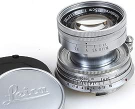 LEITZ Leica 50MM (5CM) F2.0 SUMMICRON M-Mount LENS