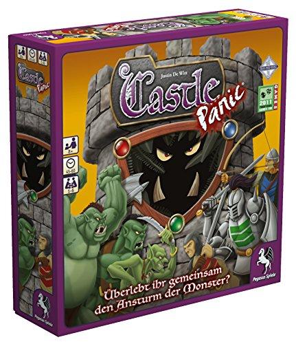 Pegasus Spiele 51415G - Castle Panic (deutsche Ausgabe)