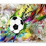 murando Fotomurales Fútbol 200x140 cm XXL Papel pintado tejido no tejido Decoración de Pared decorativos Murales moderna de Diseno Fotográfico...