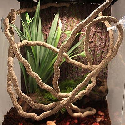 Bureze 2m Reptile Vivarium Flexible Jungle Vine by Bureze