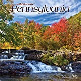Pennsylvania Wild & Scenic 2020 12 x 12 Inch Monthly Square Wall Calendar, USA United States of America Northeast State Nature (English, French and Spanish Edition)