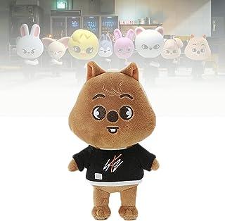 8.2in(21cm) Skzooぬいぐるみ、 SkzぬいぐるみJiniret/Wolf Chan/Leebit/DWAEKKI/Jiniret/HAN QUOKKA/BbokAri/PuppyM/FoxI.Ny for Kids Fans G...