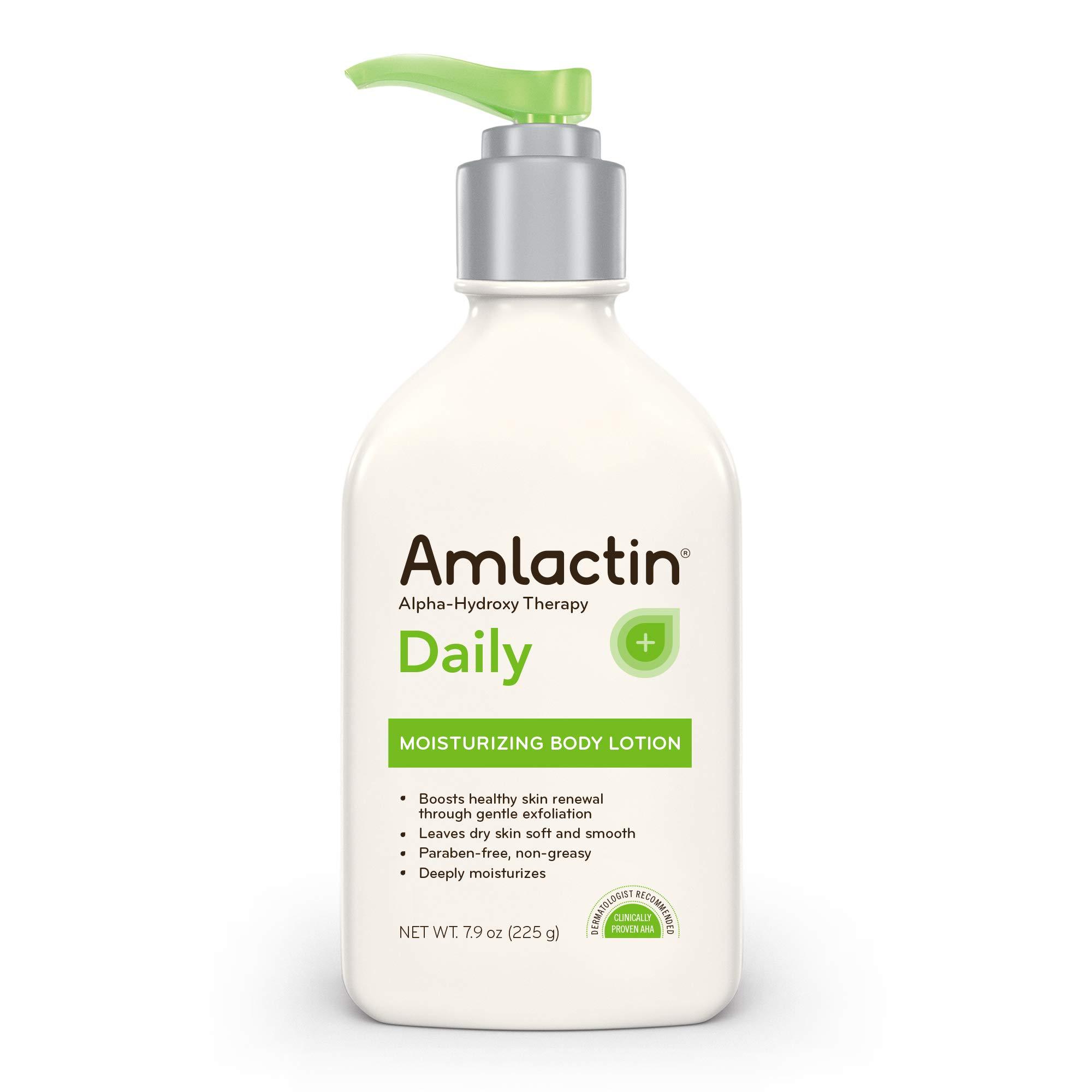AmLactin Moisturizing Alpha Hydroxy Exfoliates Paraben Free