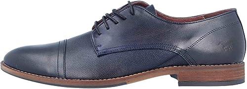 MUSTANG - zapatos de Cordones de Piel para Hombre