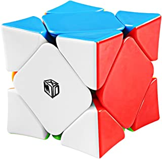 Coogam Qiyi X-Man Wingy Concave Magnetic Skewb Cube Stickerless Speed Cube Shapes Puzzle Toy