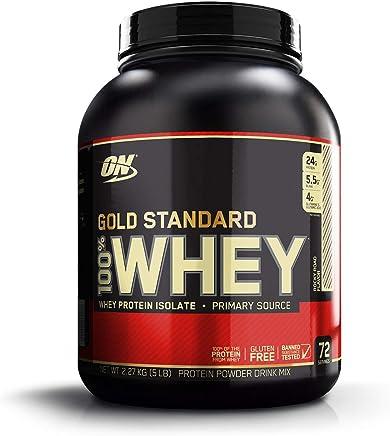 100% WHEY GOLD STANDARD (2,268kg) - Chocolate & Amêndoas - Optimum Nutrition