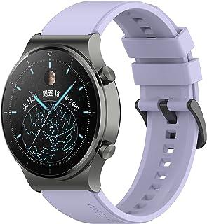 TopTen Pasek do zegarka 22mm, kompatybilny z Huawei Watch GT2 Pro/GT 2e/GT 46mm/GT2 46mm/GT Active/ Watch 2 Pro, siliko...