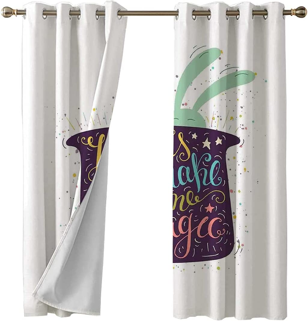Soldering Grommet Top Curtains for Bedroom Max 56% OFF Living Dining So Lets Room Make