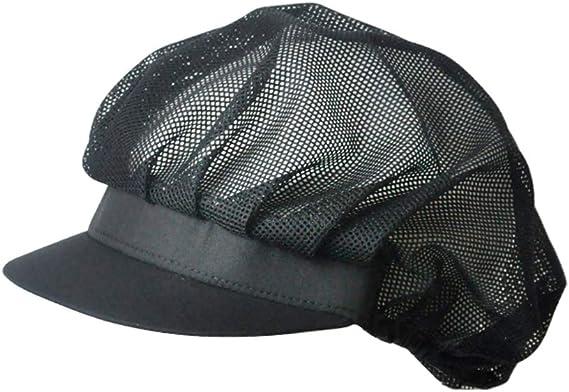 1pc Toque /Élastique R/églable Cuisines Cap Avec Uniformes Respirant Cuisine Chapeau Pour Adultes House H/ôtel Restaurant Utilisez