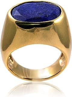 lapis lazuli gold ring