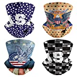 Neck Gaiter Face Mask Men Multipurpose 4th Of July Weed Raiders Fishing Accessories Scarf Neck Nerf