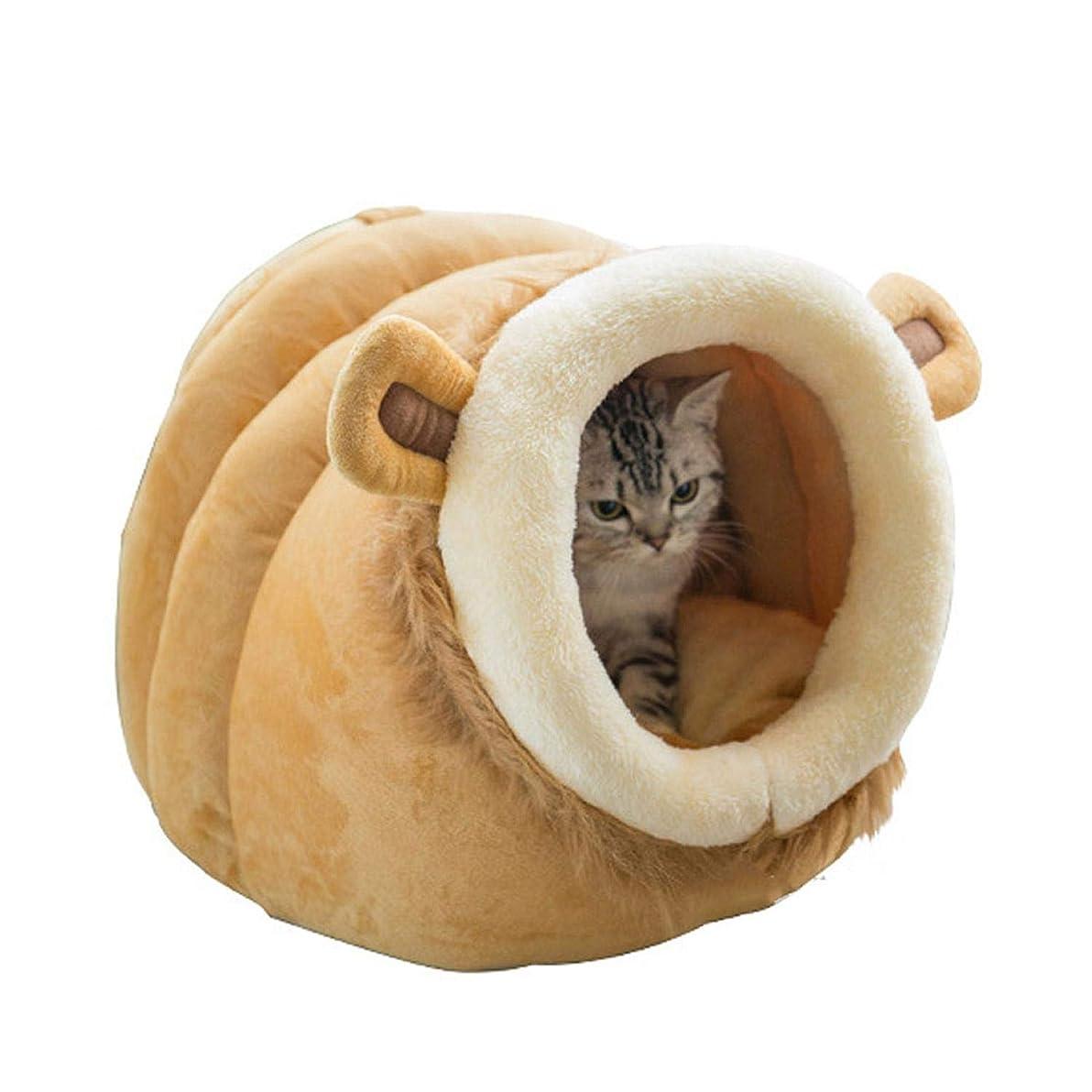 事業代数的外交官3サイズペットベッドクリエイティブ動物犬ベッド羊牛形状ペットマット冬暖かい巣ペット猫犬犬小屋ベッドソファ寝袋ハウススタイル1-48x45x38cm