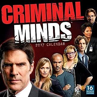 criminal minds calendar 2017